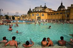 Spa / thermal bath, Budapest - try it in the winter! - LP Hotel Gellert where we stayed had an amazing thermal bath  motherlylove.co.uk