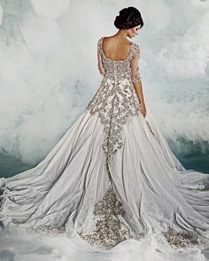 Dar Sara Wedding Gowns 2014  wow, i bet this cost a fortune! the beading, well, you can see for yourself!