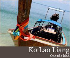 Ko Lao Liang $47/night, high season only, book ahead if poss