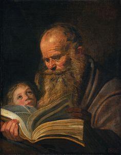 St. Matthew by Frans Hals