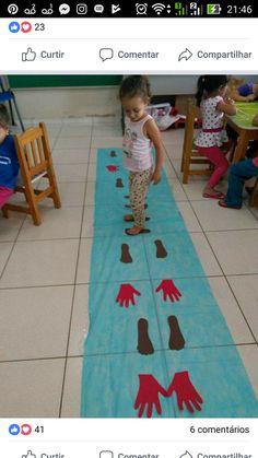 Walk the Plank Gross Motor Activities, Gross Motor Skills, Learning Activities, Preschool Activities, Pre School, Games For Kids, Crafts For Kids, Classroom, Teaching
