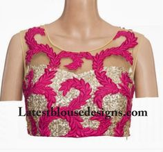 Silver inner with Printed Net.. what a combination.. make it yours.. by Stitching from myTailor.in