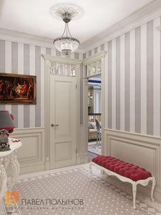 Фото: Интерьер прихожей - Интерьер шестикомнатной квартиры в классическом стиле, Малый пр. П.С., 160 кв.м.