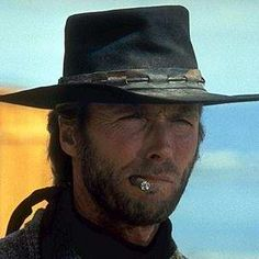 Clint Eastwood so famous for the guy of steel roles, acting in Spaghetti Westerns as The Man With No Name, being a cop as Dirty Harry 1971 and. Actor Clint Eastwood, Movie Stars, Movie Tv, Tattoo Pierna, High Plains Drifter, Tv Westerns, Star Wars, Western Movies, John Wayne