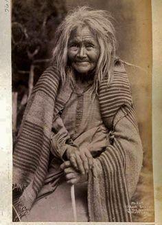 MESCALERO WOMAN , circa 1888