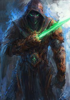 """Dark Templar"" by Jason Nguyen (JasonTN) | Redesign For Blizzard : Starcraft | #SciFi #Videogames #Starcraft #Protoss"