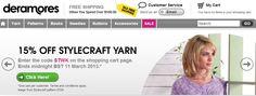 Deramores Stylecraft Special...... http://www.deramores.com/stylecraft-knitting-yarn?utm_source=facebook_medium=post_campaign=STWK