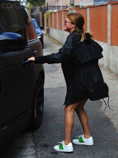 Sofia Richie is seen after lunch in Melrose, CA