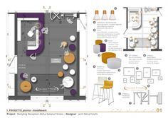 moodboard - All About Decoration Mood Board Interior, Interior Design Boards, Office Interior Design, Interior Exterior, Office Interiors, Interior Design Living Room, Concept Models Architecture, Interior Design Presentation, Clinic Design