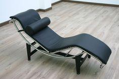 Le Corbusier Chaise Lounge — Charles Edouard Jeanneret A.K.A. Le Corbusier (1929)