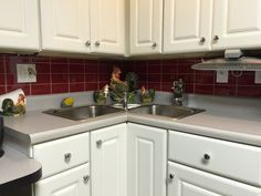 kitchen cabinets reno white cabinets black subway tile amp black granite 3203
