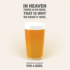 Lager beer illustration quotes Art Print