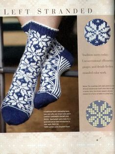 Stranded colorwork knit socks pattern to keep your feet cozy this winter! Crochet Socks, Knitting Socks, Hand Knitting, Knit Crochet, Knit Socks, Yarn Projects, Knitting Projects, Knitting Charts, Knitting Patterns