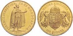 Hungary - 100 Korona, 1907, KB