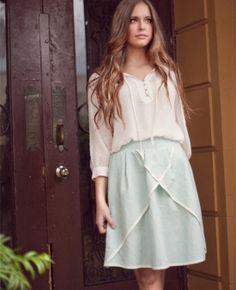 Sweet Tea Skirt Matilda Jane Womens Clothing