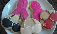 Save The Ta Tas/Breast Cancer Awareness Sugar Cookies-perfect for an awareness function