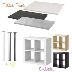 22 Amazing IKEA Shelf Table Hacks to Try Immediately Ikea hack
