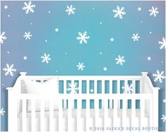 Shop Large Snowflake Decals, Giant Snowflakes, Let It Snow Decal, Snow Wall  Decals, Personalized Holiday Decor, Holiday Decals. Empirecitygraphics.