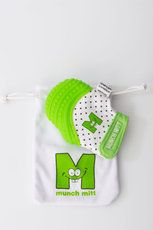 Munch Mitt - Green Teething mitten