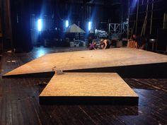 First day of technical week. Play by Yehoshua Sobol Director: Noa Raban Set & Costume Design by Karin Brauner Comay & Maor Zabar Haifa Theatre Lighting Designer: Ziv Voloshin