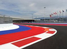 Track Walking for the 2014 #F1 Russian Grand Prix @ Sochi