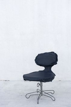 Skin Vacuum Shaped Chair in grey  chair . Stuhl . chaise  Design: Pepe Heykoop    MAISON MARTIN MARGIELA