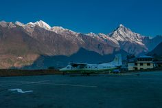 Your Mount Everest base camp trek starts by flying to Lukla