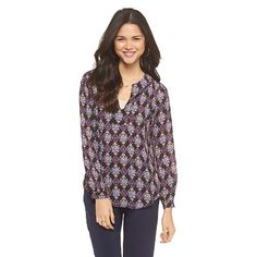High Low V-Neck Top - Lily Star