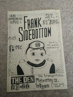 An Evening With Frank Sidebottom. Fictional Characters, Fantasy Characters
