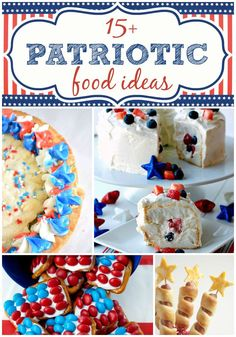 15+ #Patriotic Food