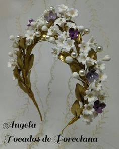Bridal Headdress, Floral Headpiece, Headpiece Wedding, Bridal Headpieces, Floral Hair, Floral Crown, Hair Accessories For Women, Wedding Hair Accessories, Flower Tiara