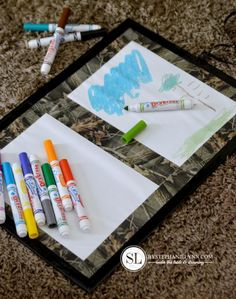Roll Up Dry Erase Board