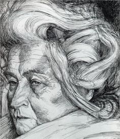 The Mother by Italian artist Umberto Boccioni (1882-1916).