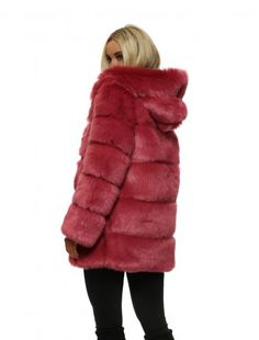 f13dd0a428ca4 Kodie Shade - Sing to HerKodie Shane's Faux Fur Coat - Amo Couture Kodie  Shane,