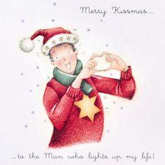 Cards » Merry Kissmas - Man » Merry Kissmas - Man - Berni Parker Designs