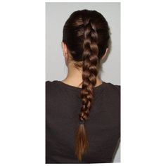 Different Types of Braids Hairstyles Pictures Hair Care And Styling... ❤ liked on Polyvore featuring beauty products, haircare, hair styling tools, hair and hairstyle
