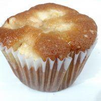 Muffins de torta de maçã