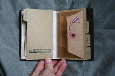 Scription: Customizing Traveler's Notebook Passport Size with Pocket Insert Filofax, Posca Marker, Pocket Notebook, Album Book, Custom Notebooks, Planner Organization, Book Binding, Stamp Collecting, My Stamp