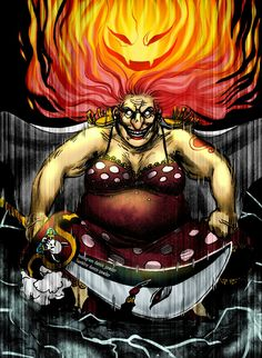 """One of the Four Yonko: """"Big Mom"""" Charlotte Linlin"""