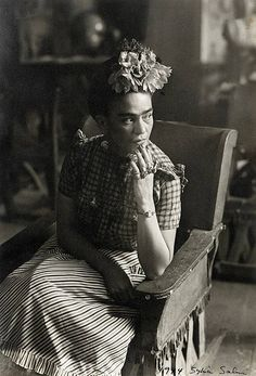 Photo of Frida by Sylvia Salmi, 1944