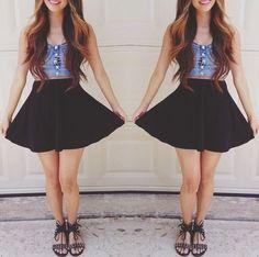 Faldas hasta la cintura 2014