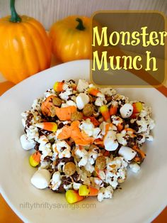 Halloween Treats: Monster Munch - Nifty Thrifty Savings