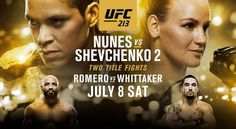 UFC 213 Full Fight Card, Start Times & How To Watch - http://www.lowkickmma.com/UFC/ufc-213-full-fight-card-start-time-how-to-watch/