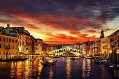 Venedik Sonnenuntergang  (Sunset)
