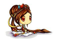 Guqin Sona - League of legends by veruulovesatl.deviantart.com on @deviantART