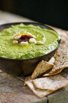 Green Monster Hummus - Vegan