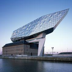 Zaha Hadid Architect's Antwerp Port House