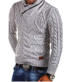 Mens Winter Sweaters, Male Sweaters, Mens Fashion Sweaters, Casual Sweaters, Sweater Fashion, Pullover Sweaters, Men Sweater, Oversized Sweaters, Fashion Fashion