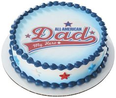 All American Dad Edible Image - FOR MY SUPER DAD!