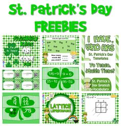 FlapJack Educational Resources: St. Patrick's Day FREEBIES!